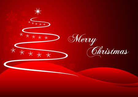 christmas decoration illustration red