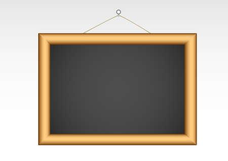 blackboard template blank object