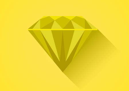 diamond flat symbol draw