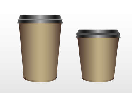 paper cup blank template
