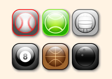 sports ball icon pack