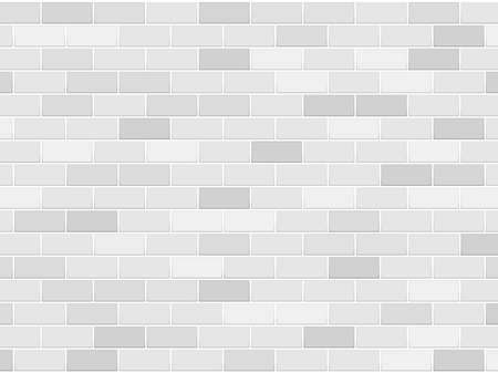 white brick construction background