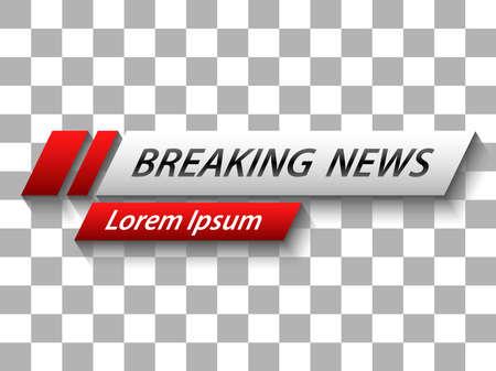 breaking news lower third