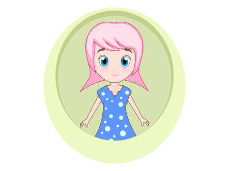 girl cartoon design