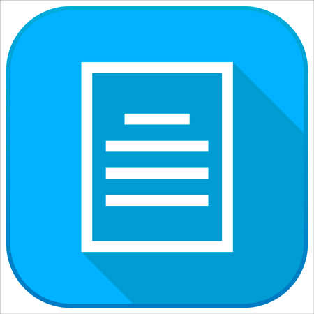 file document icon 向量圖像