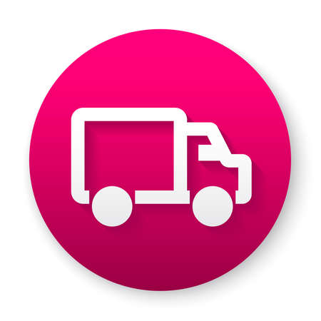 delivery truck icon 向量圖像