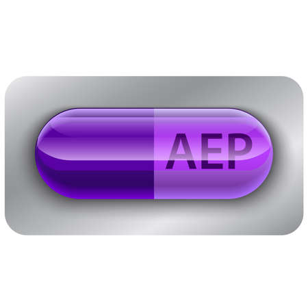 Pill icon file flat vector Illustration