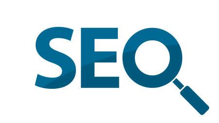 search engine optimization icon logo 向量圖像