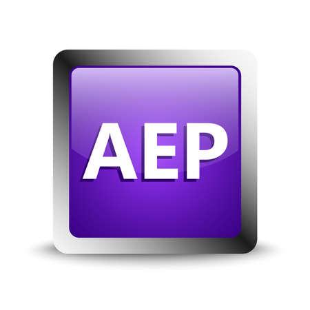 aep format icon file 版權商用圖片 - 143611924
