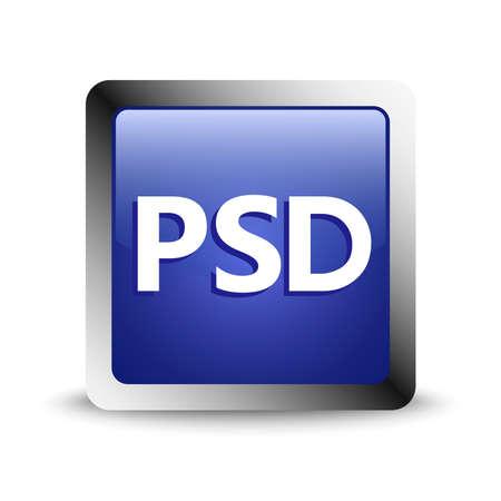 psd flat icon design