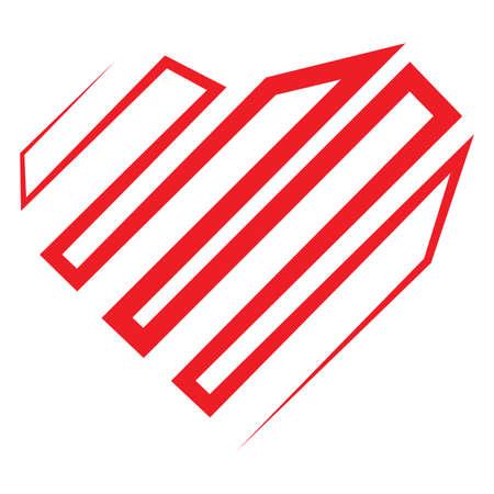 love stripe line texture