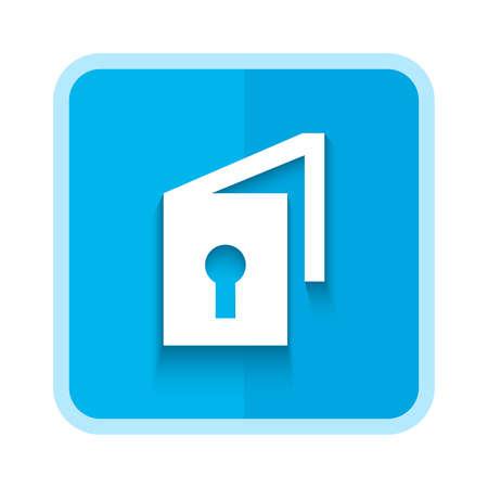 unlocked icon design 向量圖像