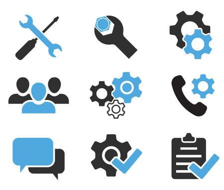 repair icon set service