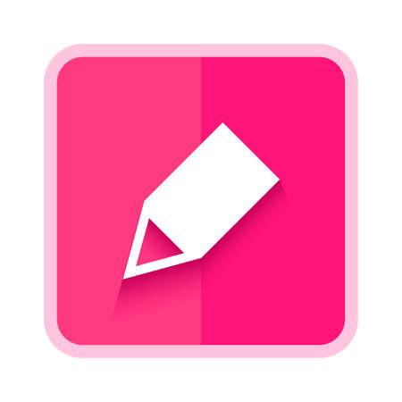 pencil edit icon button Illustration