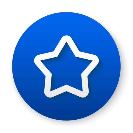 star outline icon button