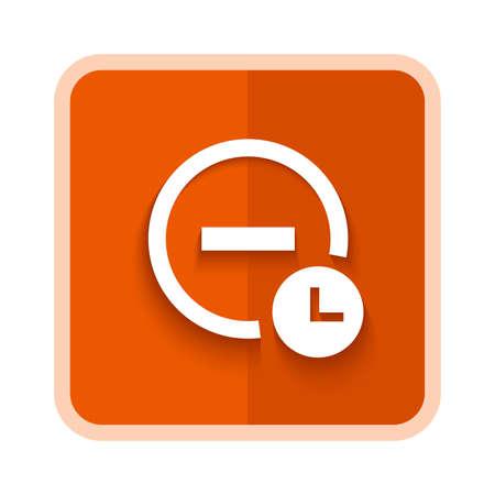 alarm silence icon 向量圖像