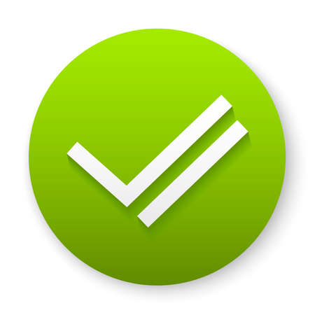 checkmark icon button