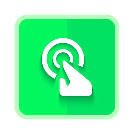 touchscreen icon button