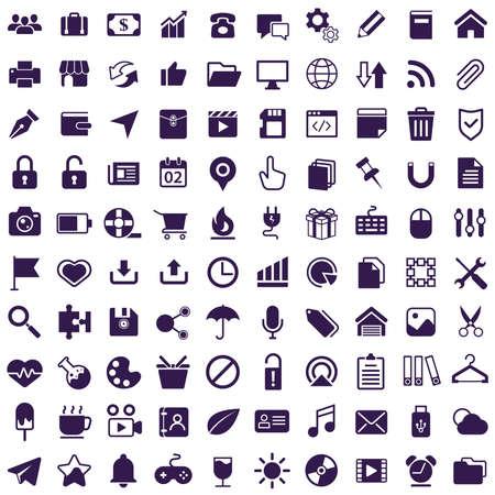 collection d'icônes Vecteurs