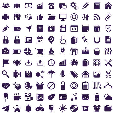 Icon-Sammlung Vektorgrafik