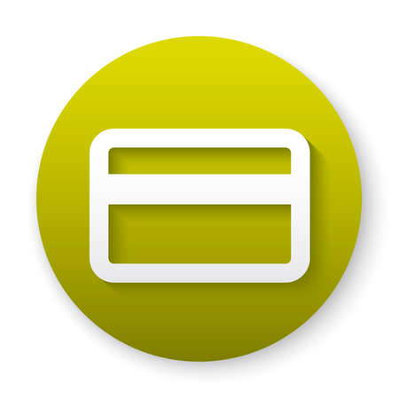 banking card outline icon