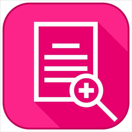 document zoom icon design