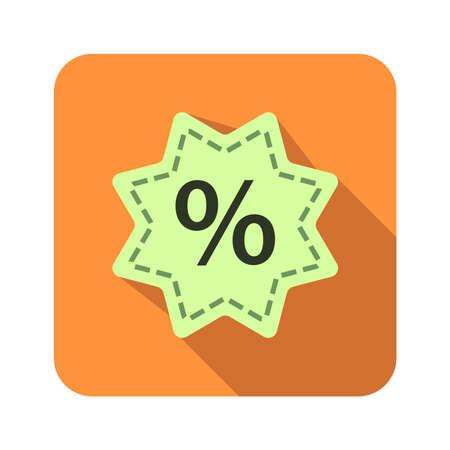 percentage symbol icon button