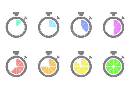 stopwatch set loading process