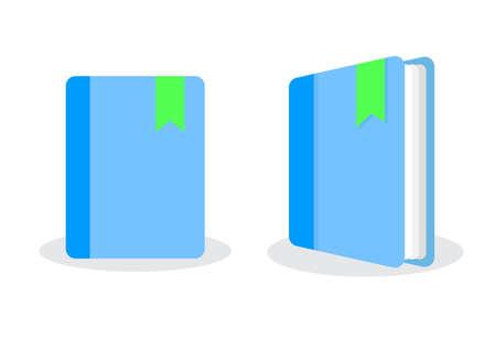 book label isometric icon 向量圖像