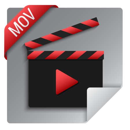 mov video format icon