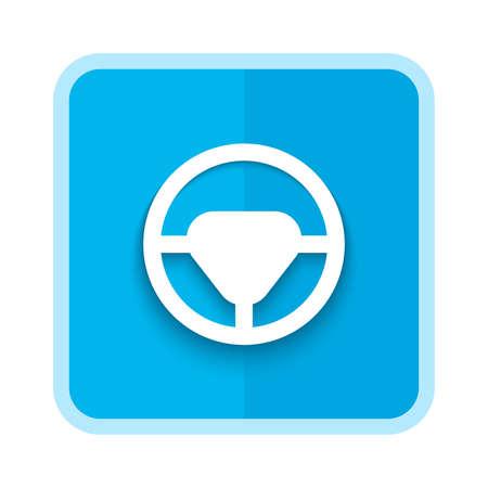 steering car icon design