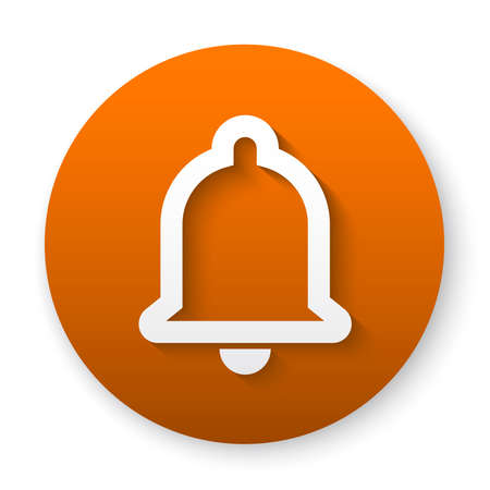 bell notification icon button