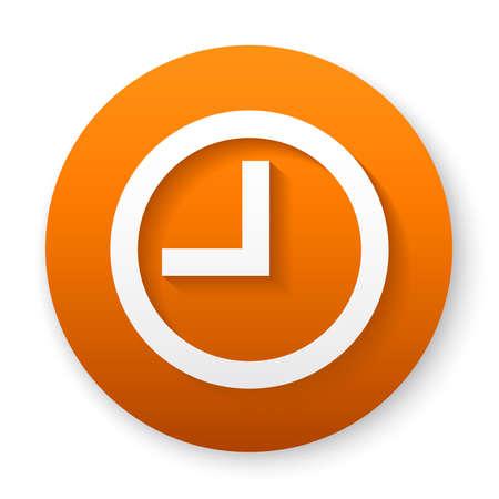 clock line icon design