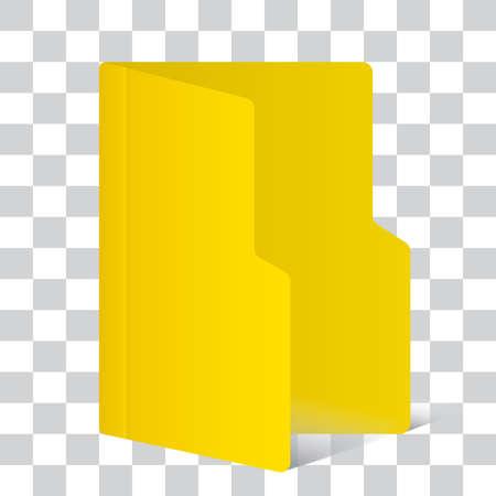 folder three dimensional icon