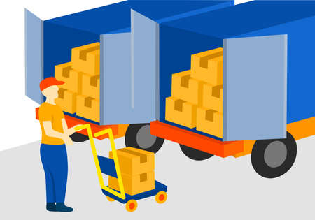 loading delivery box activity