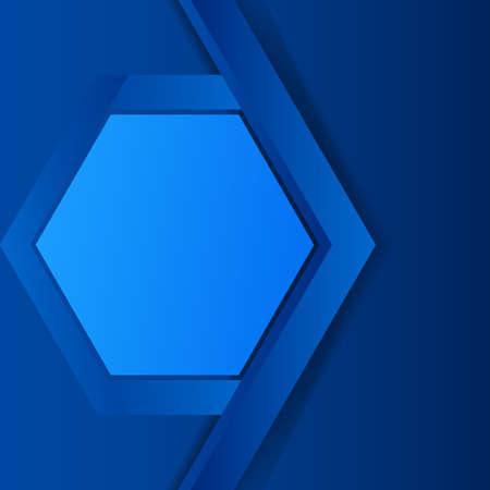 blue cover art, elegant three dimensions background. vector illustration wallpaper