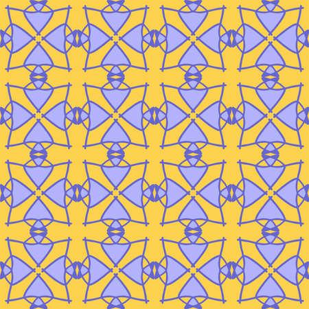 vector illustration yellow purple magenta violet lavender mandala floral flower creative seamless vintage design background