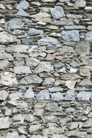 Dry stone wall photo