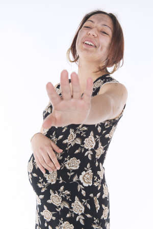 uncoordinated: Shooting in studio to a pregnant gypsy who does not want to be photographed