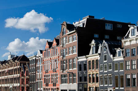 the netherlands: Dutch houses, Canal, Amsterdam, Netherlands