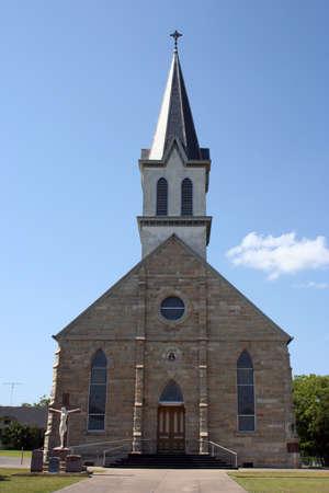 A small rural church in Texas.