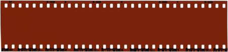 A strip of unused 35mm film. Imagens