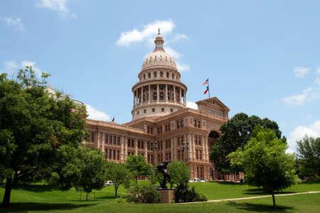 austin: Die Texas State Capitol-Geb�ude in der Innenstadt von Austin, Texas. Lizenzfreie Bilder