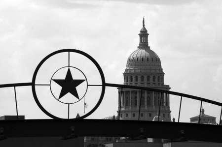 austin: Die Texas State Capitol Building in der Innenstadt von Austin, Texas.  Lizenzfreie Bilder