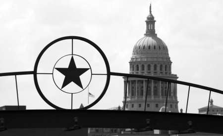 The Texas State Capitol Building in downtown Austin, Texas. photo