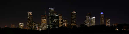 A very pretty night in Houston, Texas.