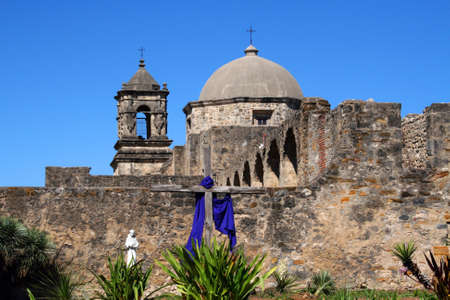 pano: A pano of Mission San Jose in San Antonio Texas