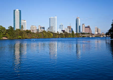 A nice evening in downtown Austin Texas. Stock Photo - 7738230