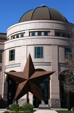 mus�e: L'entr�e au Mus�e Bob Bullock Texas State History dans le centre ville d'Austin, Texas