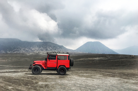 rally car and mountain, from Indonesia